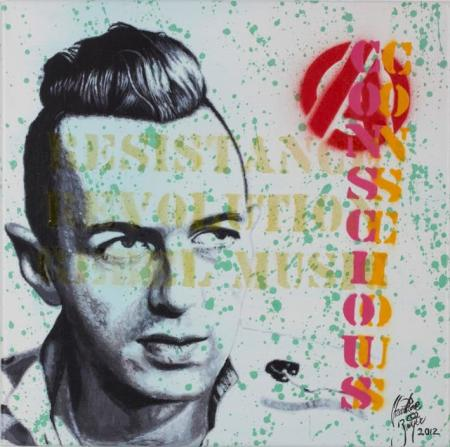 Joe Strummer Conscious (resistance revolution rebel music) - Christian Beijer Arts