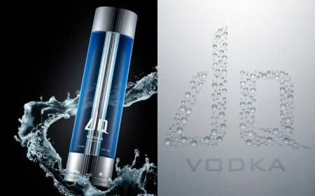 My bottle design for DQ Vodka - Christian Beijer Arts