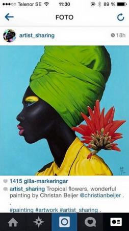 Flores tropicais - Christian Beijer Arts