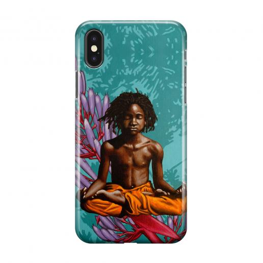 Christian Beijer Phone case Don't hate meditate - Christian Beijer Arts