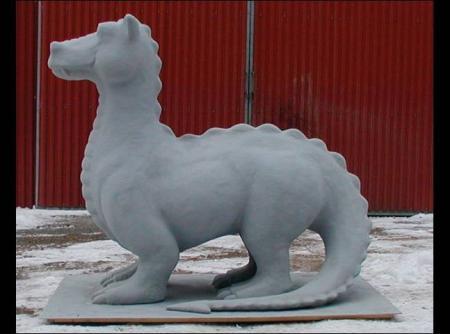 Sundsvall Dragon - Christian Beijer Arts
